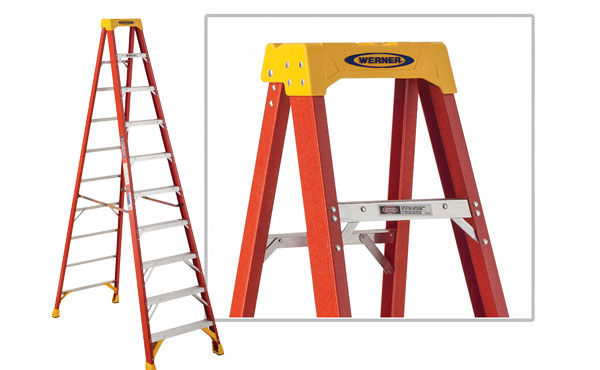 Werner Type IA Fiberglass Step Ladder