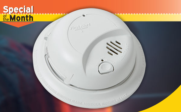 First Alert Ionization Sensor AC/DC Smoke Alarm